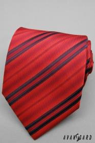 Piros csíkos nyakkendő