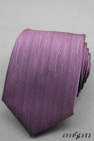 Finom keltetett lila nyakkendő
