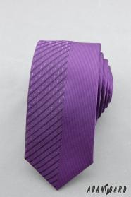 Férfi lila nyakkendő