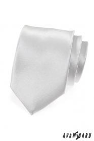 Fehér fényes sima nyakkendő