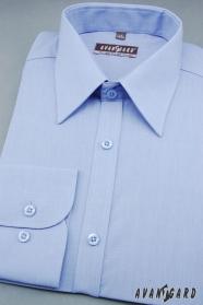 Középkék klasszikus szabású ing