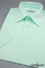 Zöldes rövid ujjú ing