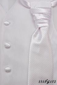 Férfi esküvői mellény szett méret 54 fehér szín