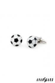 Mandzsettagomb Futballcipő, fekete/fehér