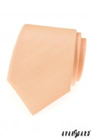 Strukturált lazac színű LUX nyakkendő