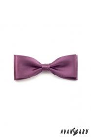 Férfi lila csokornyakkendő díszzsebkendővel
