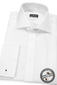 Fehér férfi ing SLIM 100% pamut