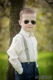 Krémszínű fiú ing