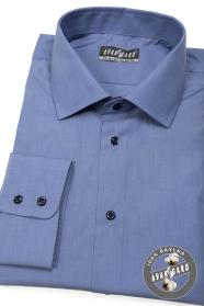 Kék férfi ing 100% pamut