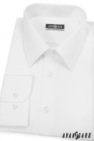 Fehér férfi ing, hosszú ujjú