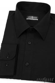 Fekete férfi Avantgard ing, hosszú ujjú