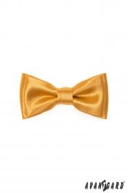 Egyszerű mini csokornyakkendő - Arany