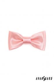 Egyszerű mini csokornyakkendő - Rózsaszín