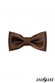 Mini csokornyakkendő - Barna