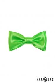Középzöld fiú csokornyakkendő MINI