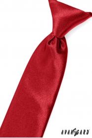Piros fényes fiú nyakkendő