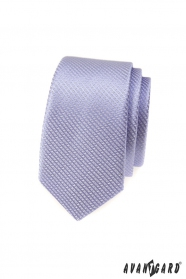 Lila vékony mintás Avantgard nyakkendő