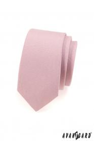 Keskeny nyakkendő rózsaszín