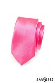 Fukszia slim nyakkendő