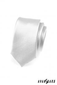 Ezüst keskeny SLIM nyakkendő