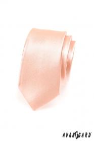 Lazac színű slim nyakkendő