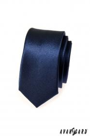 Kék slim nyakkendő