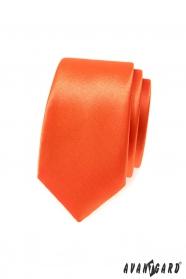 Narancssárga keskeny nyakkendő