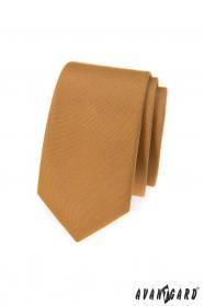 Keskeny bézs Avantgard nyakkendő