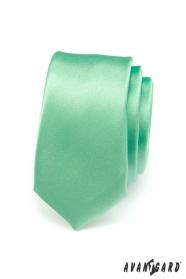 Zöld keskeny nyakkendő sima