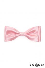 Fénylő rózsaszín csokornyakkendő