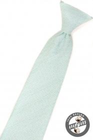 Menta strukturált fiú nyakkendő