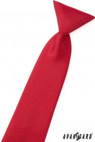 Matt vörös fiú nyakkendő