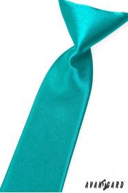Türkiz kék fiú nyakkendő