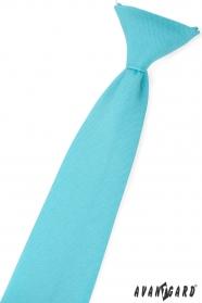 Fiú nyakkendő türkiz szín
