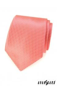 Lazac férfi nyakkendő rácsmintával