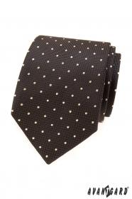 Barna nyakkendő egy könnyű ponttal
