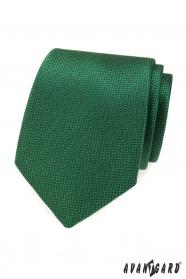 Zöld férfi nyakkendő szerkezettel