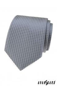 Szürke nyakkendő szerkezettel