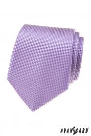 Férfi nyakkendő lila színű