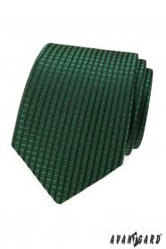 Zöld kockás nyakkendő