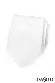 Fehér, matt nyakkendő