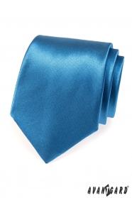 Fényes kék nyakkendő Avantgard