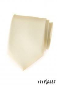 Matte krémes sárga Avantgard nyakkendő