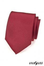 Avantgard bordó színű nyakkendő