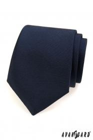 Kék matt férfi nyakkendő