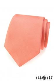 Egyszínű lazac nyakkendő