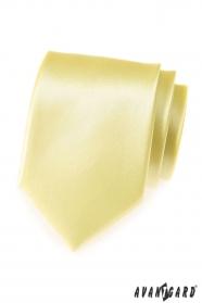 Világos sárga férfi nyakkendő