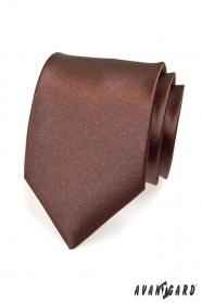 Barna sima nyakkendő férfiaknak
