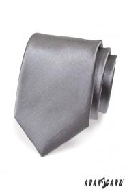 Férfi grafitszínű nyakkendő