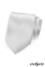 Sima ezüst nyakkendő